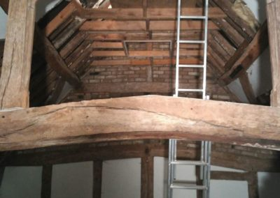 Full renovation of a 16th century oak framed building, Chalfont
